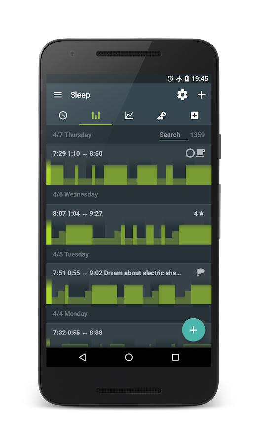 Sleep as Android- screenshot