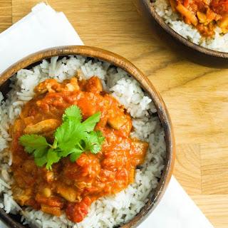Slow Cooker Chicken Tikka Masala with Cauliflower
