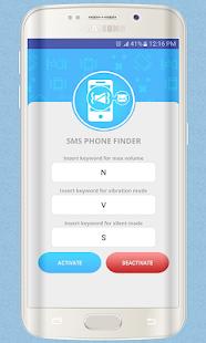 SMS Phone Finder - Ringer Mode Changer - náhled
