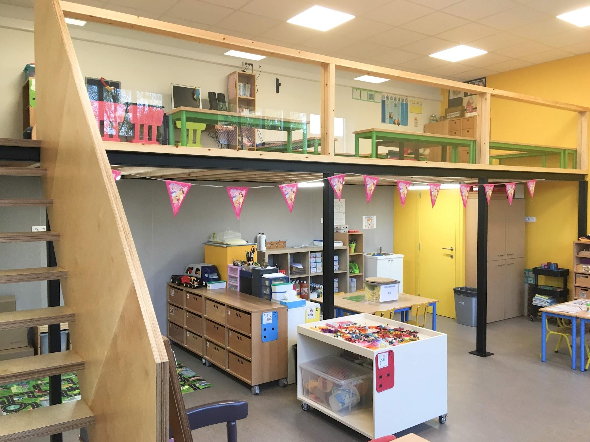 Vernieuwde klaslokalen