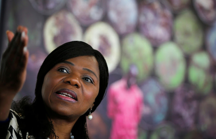 Thuli Madonsela. Picture: REUTERS