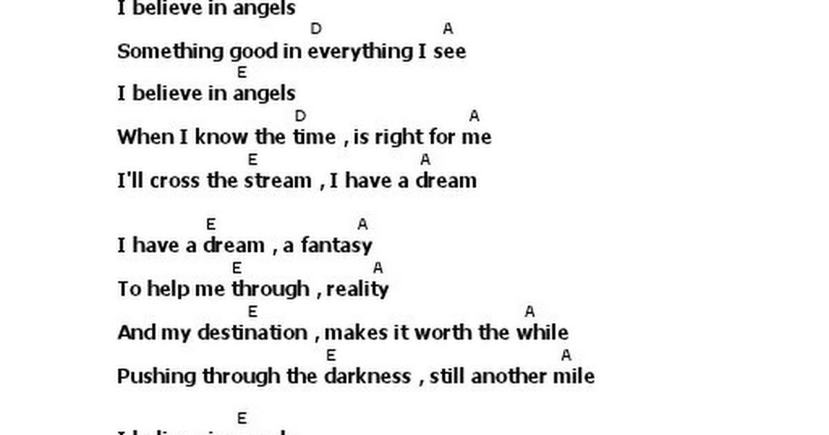 Lyric Chord I Have A Dream Abbapdf Google Drive