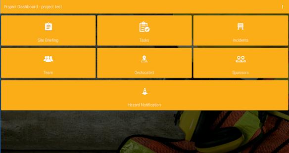 SiteHub Tablet - náhled