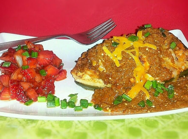 Chicken Enchilada Stuffed Chili W/ Strawb... Recipe