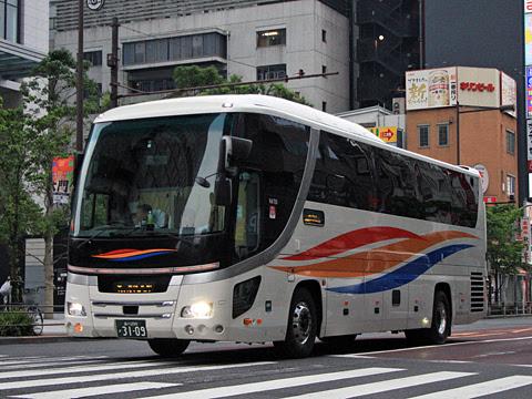 京浜急行バス「エディ号」阿南系統 3109 東京浜松町にて