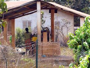 Photo: il date de 1986, la 1ère action du CTM au Bénin