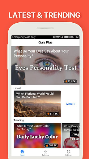 Quiz++ - Funny Trivia Quizzes & Personality Tests