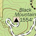 San Diego Hikes —Paper Maps icon