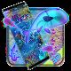 Neon koi fish theme (app)