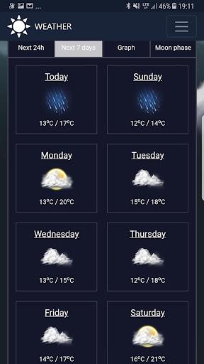 Weather network 1.3 screenshots 19