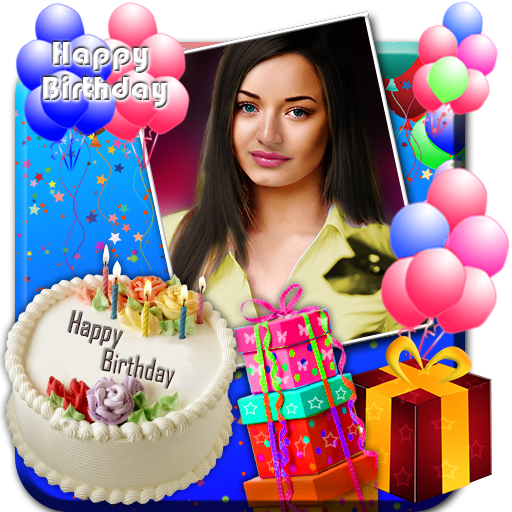 App Insights Birthday Greeting Cards Maker Photo Frames Cakes