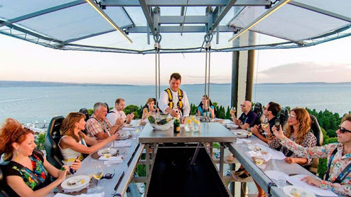 Breathtaking Sky Dinner : Mount Zion Tours and Travels PTY Ltd