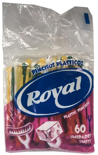 Pinchos Royal Plasticos 60Und