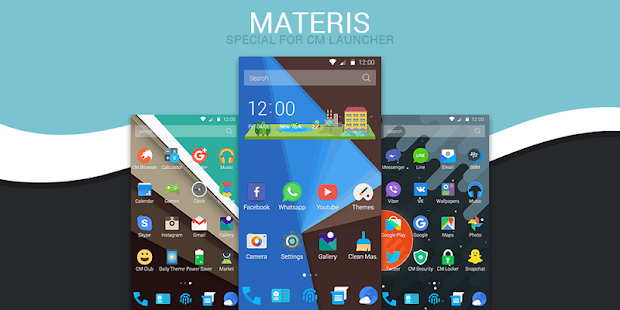 Materis - Icon Pack for CM Screenshot