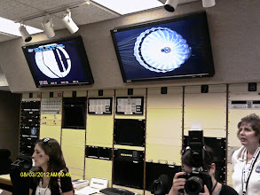 Photo: Control room for the 10x10 Supersonic Wind Tunnel