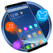 App Galaxy S8 3D Launcher Theme Live HD Wallpapers 1.0 APK for iPhone