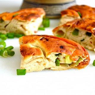 Chinese Scallion Bread.