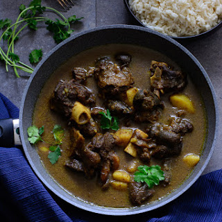Jamaican Curry Goat.