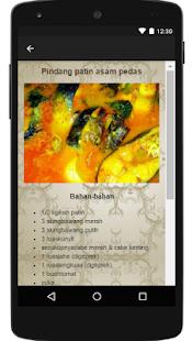 Resep Masakan Pindang screenshot
