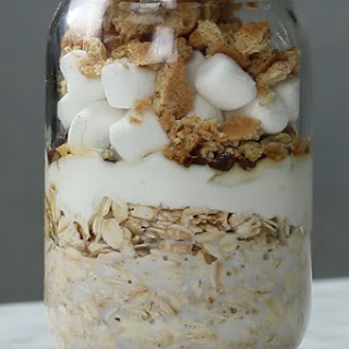 Indoor S'mores Overnight Oats