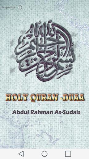 Al Sudais - Holy Quran Duaa
