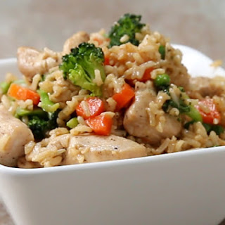 Easy, Healthy Fried Rice.