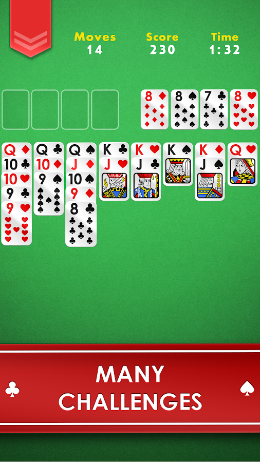 FreeCell - Free Classic Casino Card Game- screenshot