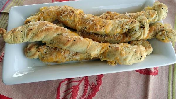 Twisty Sista' Bread Sticks Recipe