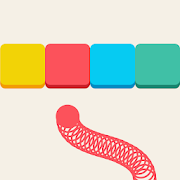 Rainbow Snake: Endless Switch Color Quest