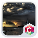 Lighthouse Sunset CLauncher icon