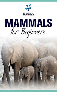 Sasol Mammals for Beginners- screenshot thumbnail