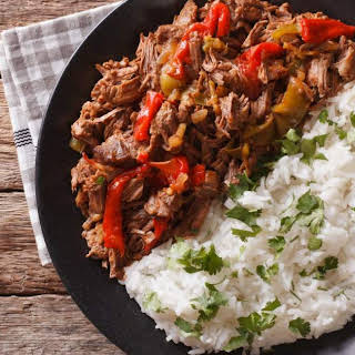 Slow Cooker Beef Machaca.