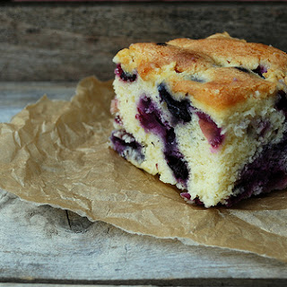 Melt-in-your-Mouth Blueberry Cake.
