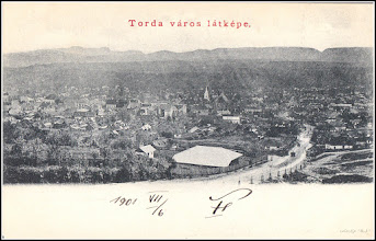 Photo: Turda - vedere panorama 1901