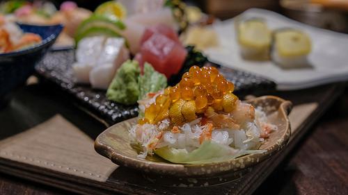 鹿角鮨 隱身汐止日式料理 CP值高 海鮮控必到 超新鮮 握壽司 丼飯