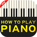 How to play piano icon