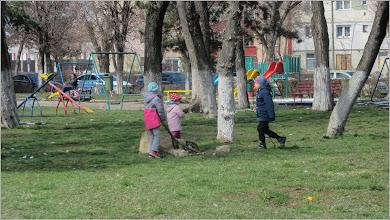 Photo: Turda - Calea Victoriei, parcul din Mr.1 - 2018.03.24
