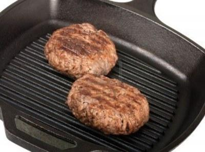 Grill pan for burgers seasoned with s&p cooked to med.Layer burger cheese, steak sauce,...