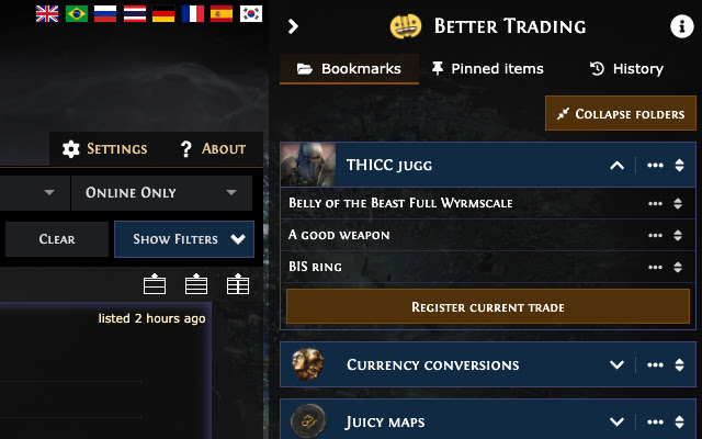 Better PathOfExile Trading