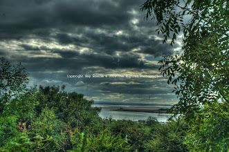 Photo: River Mersey from Weston, Runcorn
