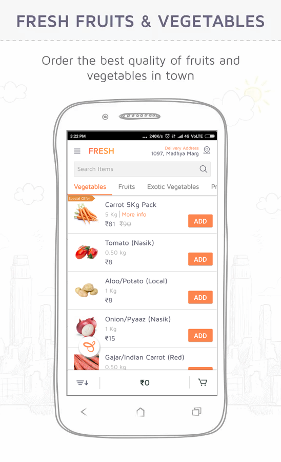 Jugnoo - Rides, Food & Grocery- screenshot