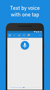 Text by Voice Screenshot