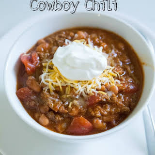 Instant Pot Cowboy Chili.
