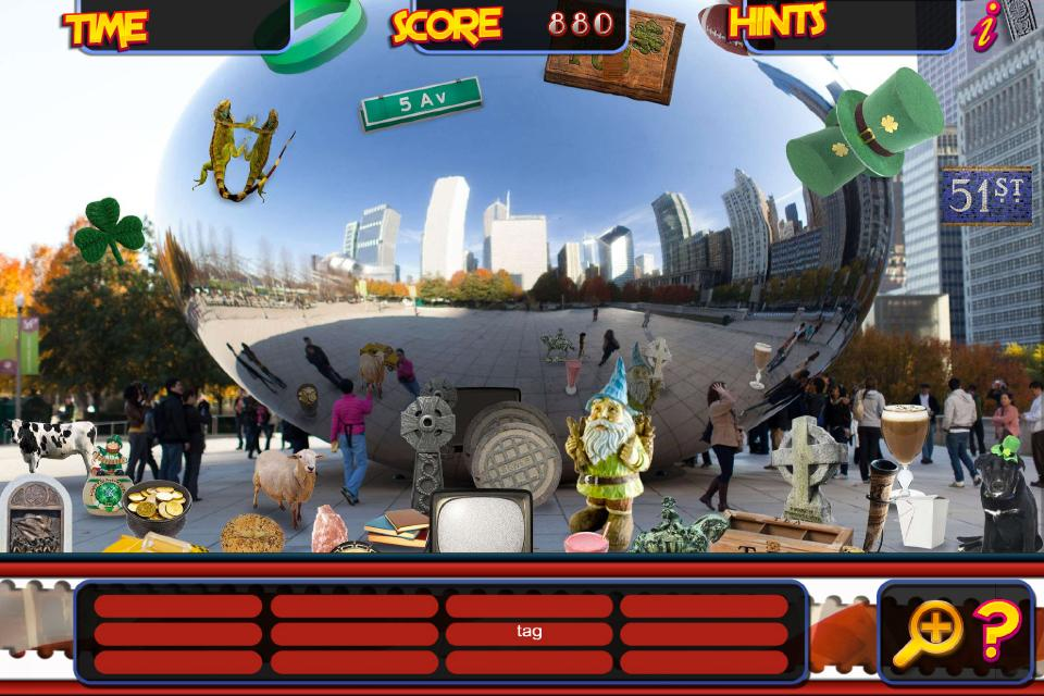 Hidden Object New York City & Chicago Objects Game- screenshot