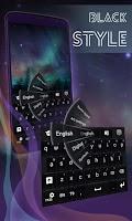 Screenshot of Black Style Keyboard