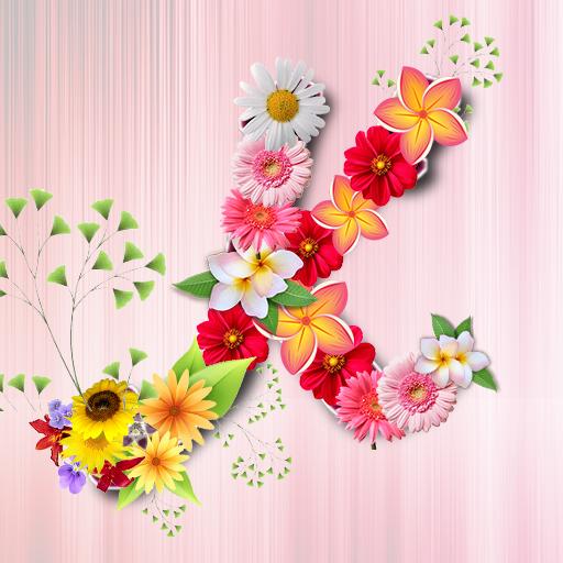 App Insights: Flower Alphabet Wallpaper