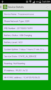 Live Phone Sim AddressTracker screenshot 1