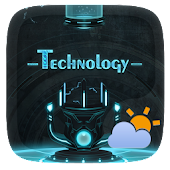 Technology GO Weather Theme