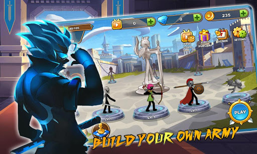 Stickman Legend - Ninja Warriors: Kingdom War 1.0 screenshots 2