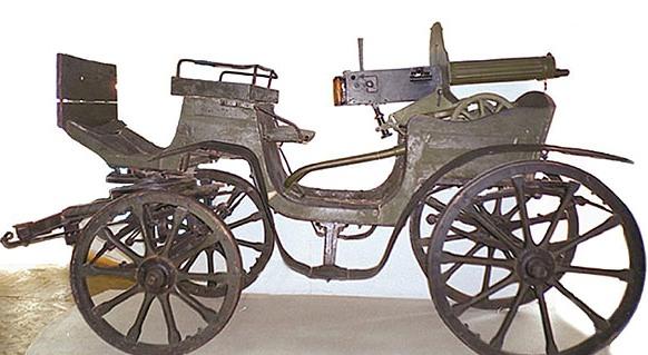 Махновська тачанка в Гуляйпільскому історичному музеї